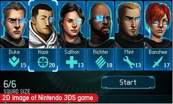Tom Clancy's Ghost Recon Shadow Wars Nintendo 3DS