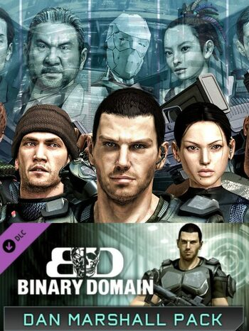 Binary Domain: Dan Marshall Pack (DLC) Steam Key GLOBAL
