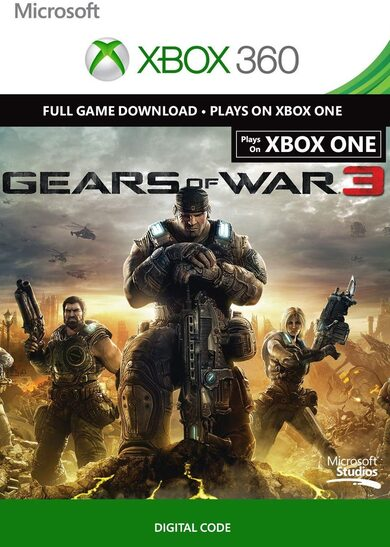 Gears of War 3 (Xbox 360 / Xbox One) Xbox Live Key GLOBAL