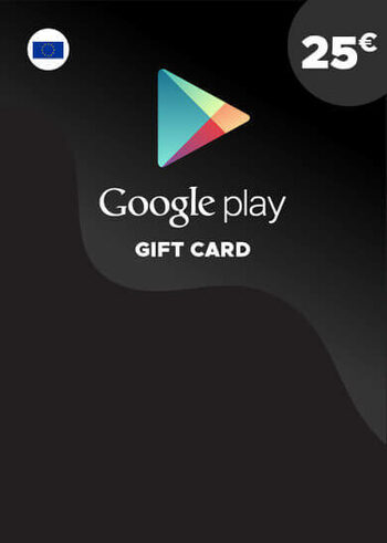Google Play Gift Card 25 EUR Key EUROPE