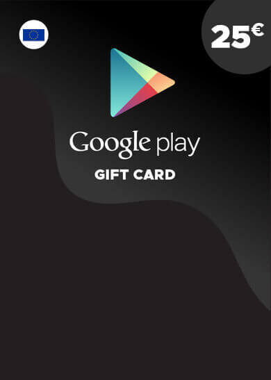 Google Play Gift Card 25 EUR Key EUROPE