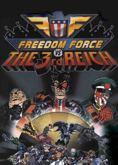 Freedom Force vs. The Third Reich Steam Key GLOBAL