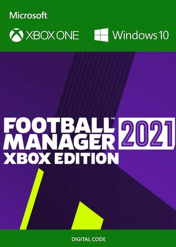 Football Manager 2021 Xbox Edition PC/ XBOX LIVE Key UNITED STATES