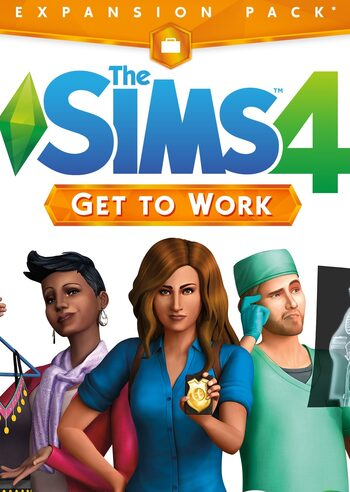 The Sims 4: Get to Work (DLC) Origin Key GLOBAL