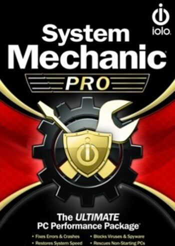 iolo System Mechanic Pro Unlimited Devices 1 Year iolo Key GLOBAL
