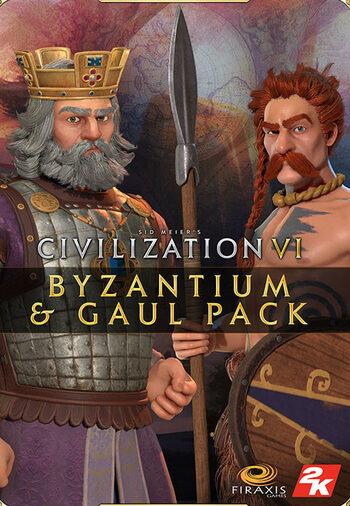 Civilization VI - Byzantium & Gaul Pack (DLC) Steam Key GLOBAL