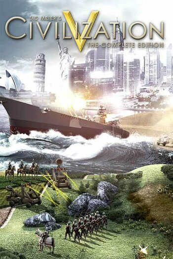 Civilization 5 (Complete Edition) Steam Key EUROPE