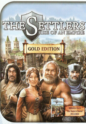 The Settlers: Rise of an Empire - Gold Edition Gog.com Key GLOBAL