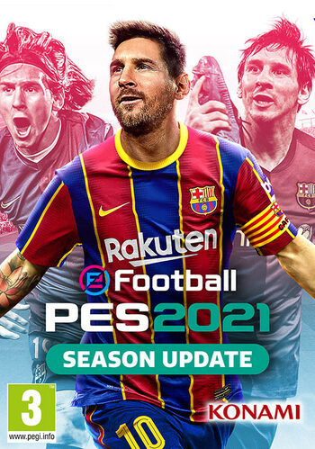 eFootball PES 2021 Season Update - Standard Edition Steam Key GLOBAL