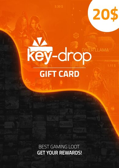 Key-Drop.com Gift Card 20 USD Key GLOBAL