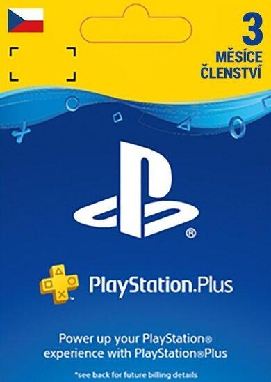 PlayStation Plus Card 90 Days (CZ) PSN Key CZECH REPUBLIC