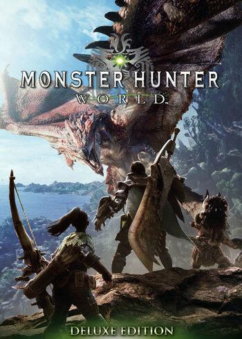 Monster Hunter: World (Digital Deluxe) Steam Key GLOBAL