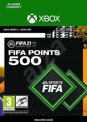 FIFA 21 - 500 FUT Points (Xbox One) Xbox Live Key GLOBAL