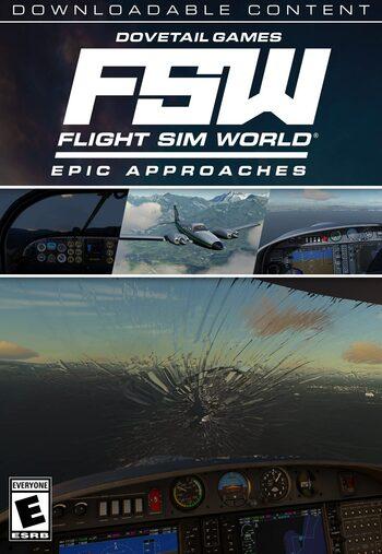 Flight Sim World - Epic Approaches Mission Pack (DLC) Steam Key GLOBAL
