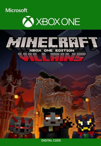 Minecraft: Villains Skin Pack (DLC) XBOX LIVE Key EUROPE