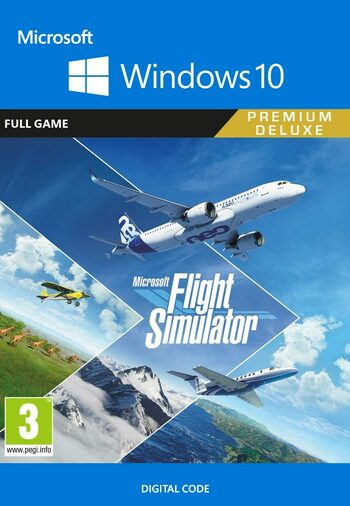 Microsoft Flight Simulator: Premium Deluxe Edition - Windows 10 Store Key GLOBAL