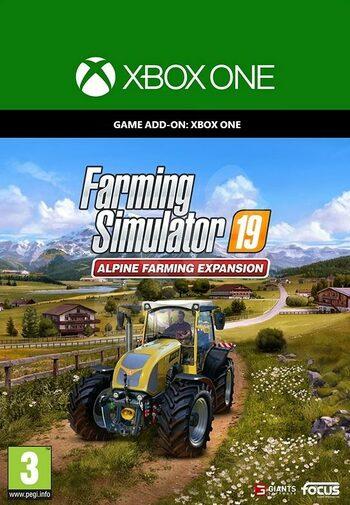 Farming Simulator 19: Alpine Farming Expansion (DLC) XBOX LIVE Key EUROPE