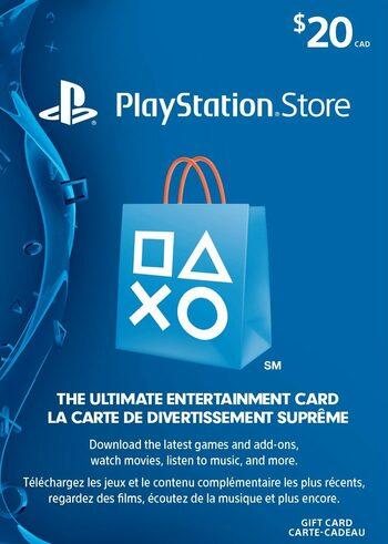PlayStation Network Card 20 CAD PSN Key CANADA