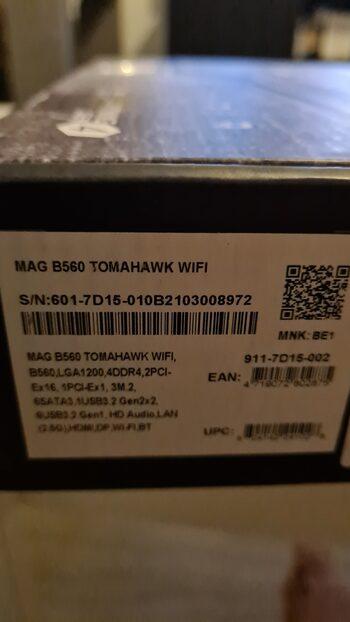 MSI MAG B550 TOMAHAWK AMD B550 ATX DDR4 AM4 2 x PCI-E x16 Slots Motherboard
