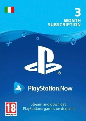 PlayStation Now 3 Month Subscription (IT) PSN Key ITALY