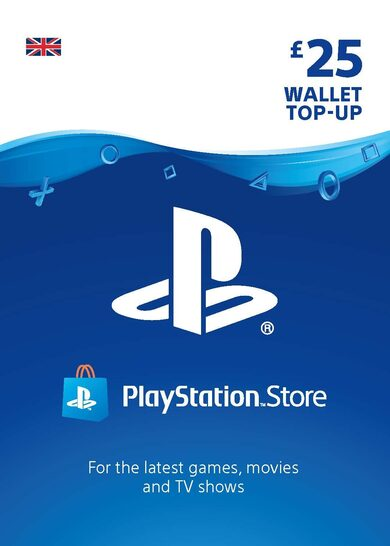 PlayStation Network Card 25 GBP (UK) PSN Key UNITED KINGDOM