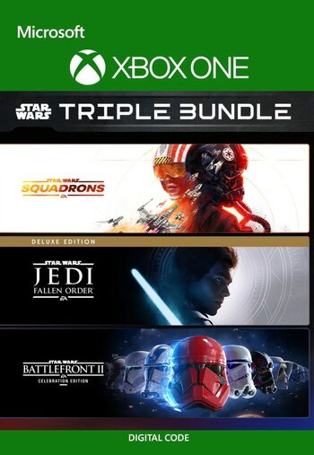 EA STAR WARS TRIPLE-BUNDLE XBOX LIVE Key UNITED STATES