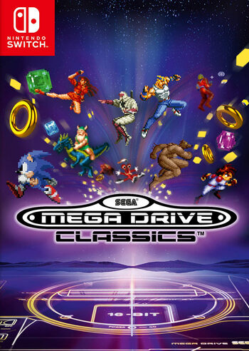 SEGA Mega Drive Classics (Nintendo Switch) eShop Key EUROPE