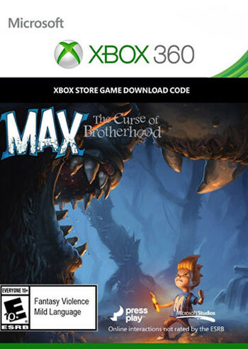 Max: The Curse of Brotherhood - Xbox 360 Xbox Live Key GLOBAL