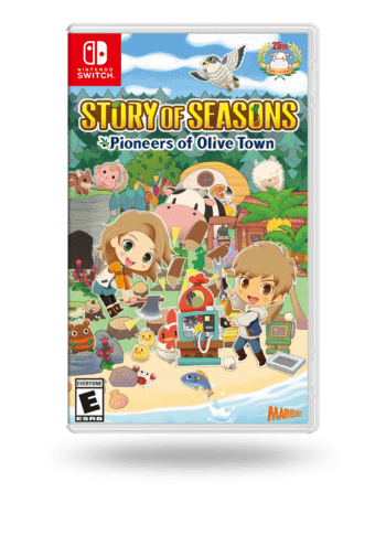 Story of Seasons: Pioneers of Olive Town - Deluxe Edition Nintendo Switch