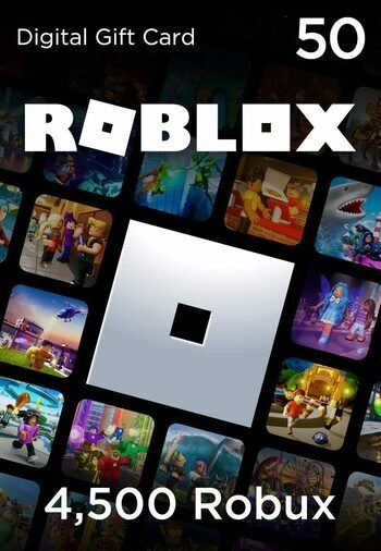 Roblox Card 50 EUR - 4500 Robux  Key GLOBAL