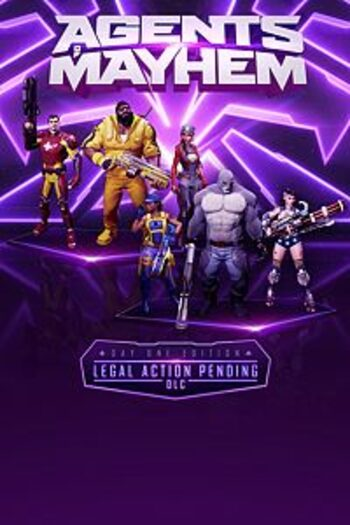 Agents of Mayhem Day One (DLC) Steam Key GLOBAL