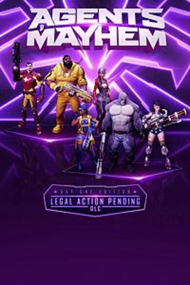 Agents of Mayhem (Day One) (DLC) Steam Key GLOBAL