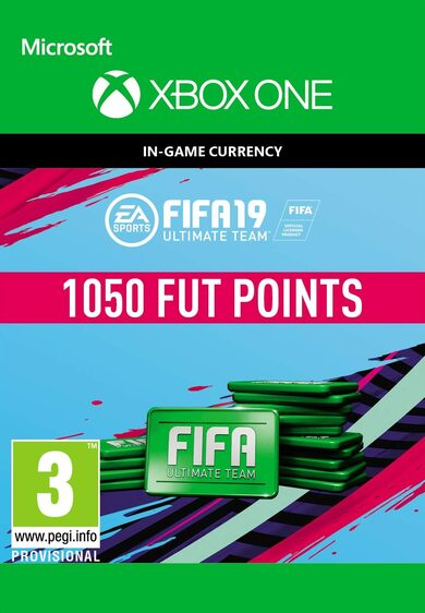 FIFA 19 - 1050 FUT Points (Xbox One) Xbox Live Key GLOBAL