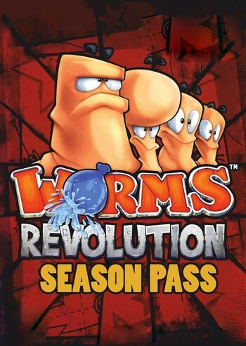 Worms Revolution - Season Pass (DLC) Steam Key GLOBAL