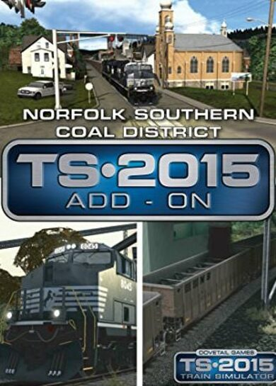 Train Simulator - Norfolk Southern Coal District Route Add-On (DLC) Steam Key EUROPE