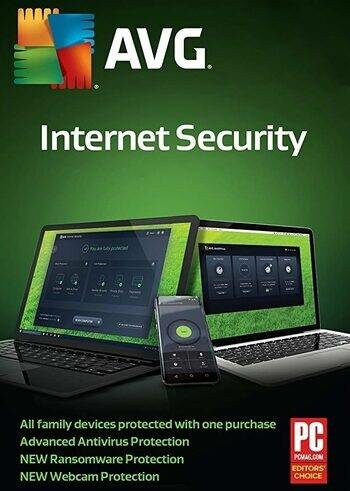 AVG Internet Security (Multi-Device) 5 Devices 2 Years AVG Key GLOBAL