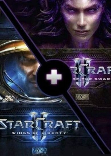 Starcraft II: Wings of Liberty & Heart of the Swarm Expansion Battle.net Key EUROPE
