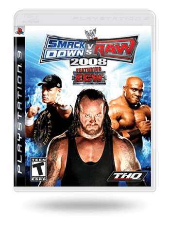 WWE SmackDown vs. Raw 2008 PlayStation 3