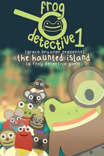 The Haunted Island, a Frog Detective Game Steam Key GLOBAL
