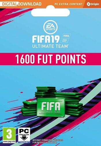 FIFA 19 - 1600 FUT Points Origin Key GLOBAL