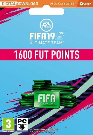 FIFA 19 - 1600 FUT Points Origin Key GLOBAL