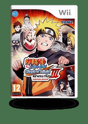 NARUTO Shippuden: Clash of Ninja Revolution 3 Wii