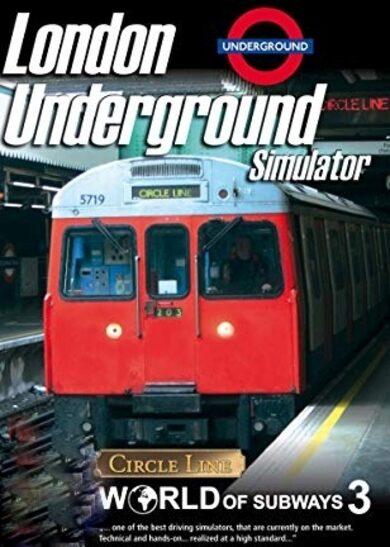 World of Subways 3 – London Underground Circle Line Steam Key GLOBAL фото