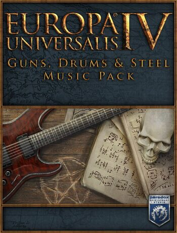 Europa Universalis IV Guns Drums & Steel Music Pack Steam Key GLOBAL