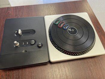 Nintendo Wii WiiU DJ HERO Wireless Turnable Controller, DJ pultas +žaidimai V17