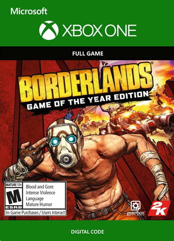 Borderlands (GOTY) (Xbox One) Xbox Live Key UNITED STATES