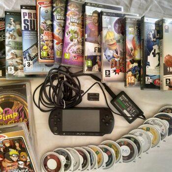 PSP Street (E1000), Black, 64MB + 29 Juegos + Memory Stick