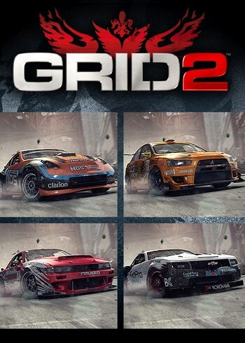 GRID 2 - Drift Pack (DLC) Steam Key GLOBAL