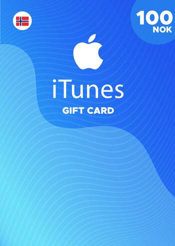 Apple iTunes Gift Card 100 NOK iTunes Key NORWAY