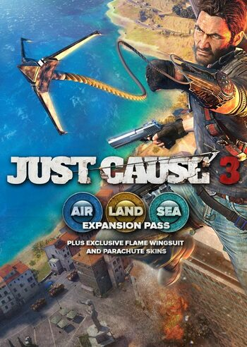 Just Cause 3: Air, Land & Sea Expansion Pass (DLC) Steam Key GLOBAL